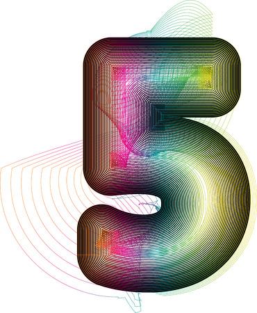 Riassunto Numero Colorful 5