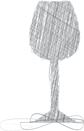aperitif: Glasses illustration