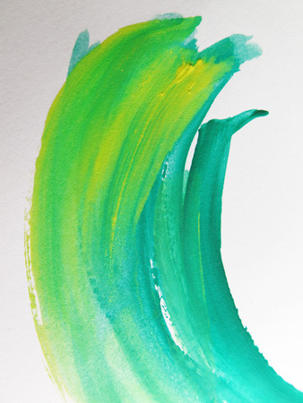 Colorful Abstract watercolor painted background Stock Photo