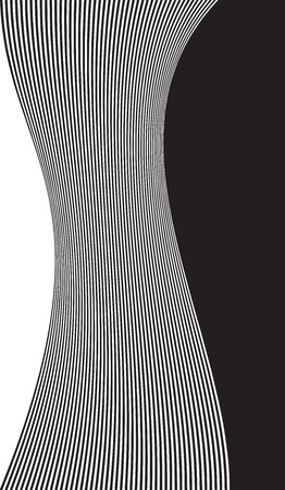 Decorative abstract design. Vector art background Illustration