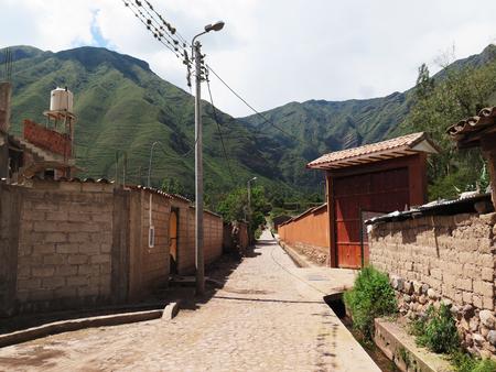 urubamba valley: City of Cuzco in Peru, South America