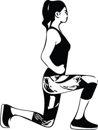 Abstrakte Eignungfrau, ausgebildeter weiblicher Körperabbildung.