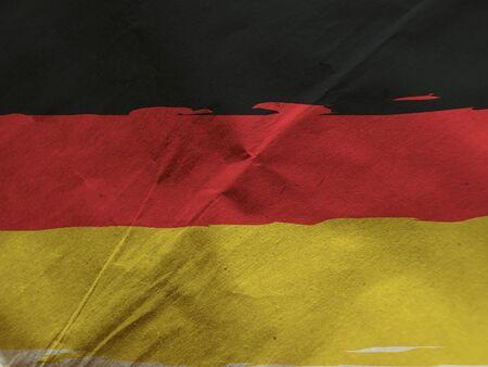Grunge GERMANY flag or banner Stockfoto