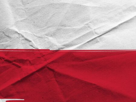 Grunge POLAND flag or banner