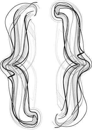 Abstract Doodle Symbol Vector illustration