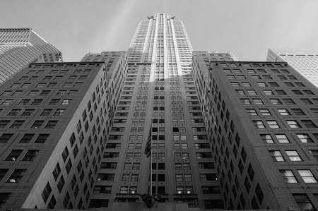 Chrysler building  in New York United States America photo