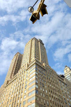 Manhattan building in New York United States America
