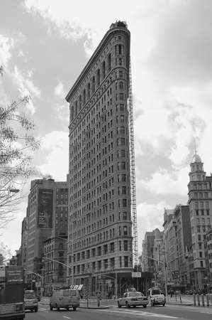 flatiron: Flatiron Fuller building Manhattan in New York Editorial