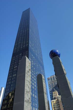 Manhattan city in New York United States America Stock Photo