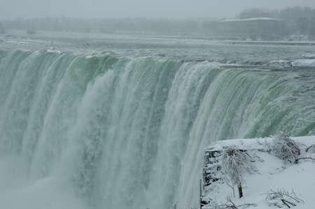 niagara falls water  in toronto ontario canada
