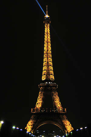 Eiffel tower is a one of the most recognizable structures in the world Stock Photo - 10958376