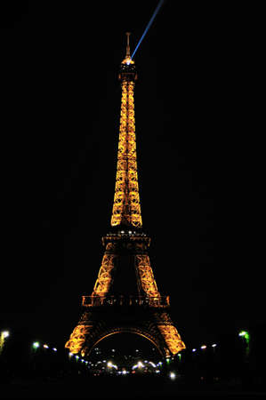 Eiffel tower is a one of the most recognizable structures in the world Stock Photo - 10958378