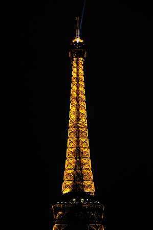 Eiffel tower is a one of the most recognizable structures in the world Stock Photo - 10958377