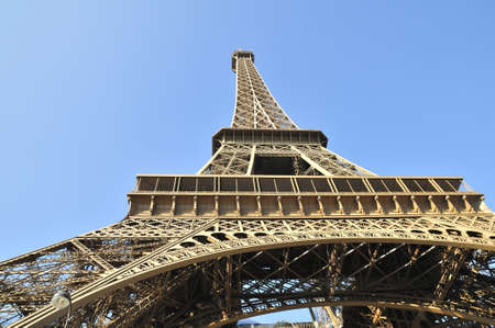 Eiffel tower is a one of the most recognizable structures in the world Stock Photo - 11111991