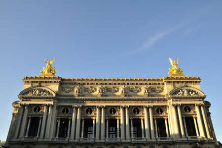 Opera Garnier is important construction in Paris Stock Photo - 11111993
