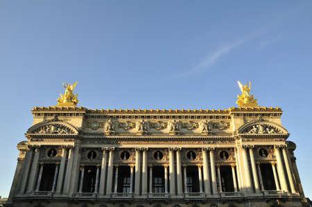 Opera Garnier is important construction in Paris Stock Photo - 11111993