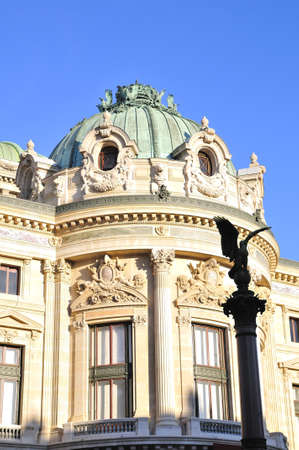 musique: Opera Garnier is important construction in Paris Stock Photo