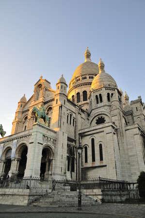 sacre: Sacre Cour is important church in Paris Stock Photo