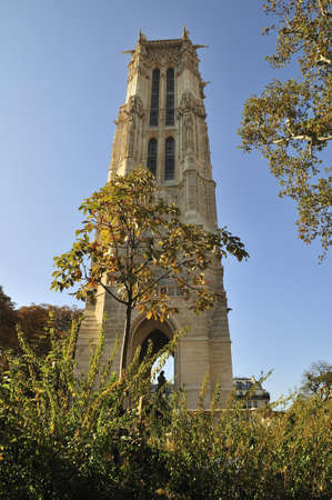 Saint Jacques is a log tower in Paris France Stock Photo - 13002880