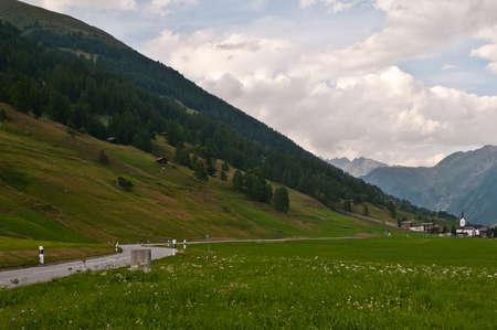 Ulrichen is a little town in Valais Switzerland