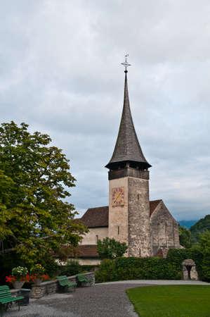 Spiez is a little town in Bern Switzerland near the thunersee lake
