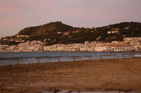 selva: Port de la Selva in Alt Emporda Girona Spain