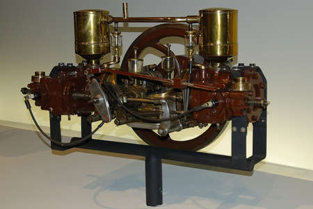 explosion engine: The first explosion gasoline engine for car