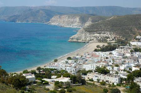 ocea: Agua Amarga is a little town in Almeria Andalucia Spain