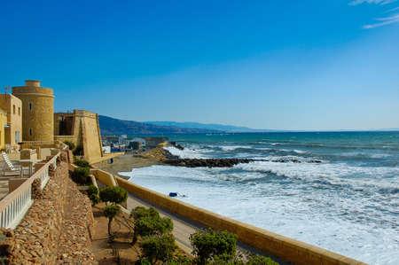 Roquetas de Mar is a coast town in Almeria Andalucia Spain
