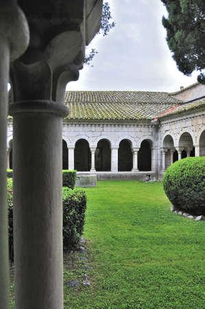 canonical: Santa Maria de Vilabertran is a famous monastery of XI century