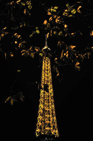 Eiffel tower is a one of the most recognizable structures in the world Stock Photo - 18961895