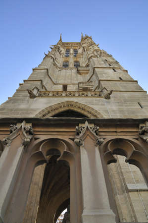 jacques: Saint Jacques is a log tower in Paris France Stock Photo