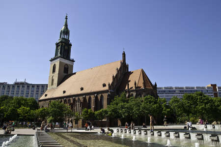 mary's: St. Marys Church known in German as the Marienkirche is a church in Berlin Germany