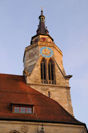 Tubingen is a traditional university town in central Baden-Wurttemberg, Germany Stock Photo