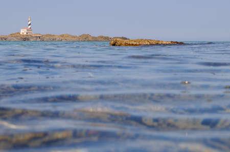 Favaritx lighthouse in Menorca Balear Island