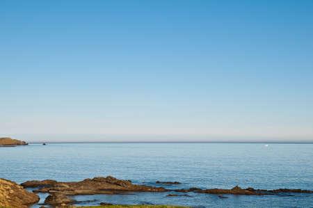 Llanca beach in girona emporda catalonia spain