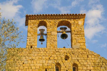 catalunya: Monastery of the Holy Sepulchre of Palera in Beuda Girona Catalunya Spain