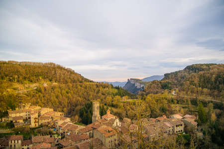 rupit i pruit is a little town in barcelona catalonia spain Stock Photo