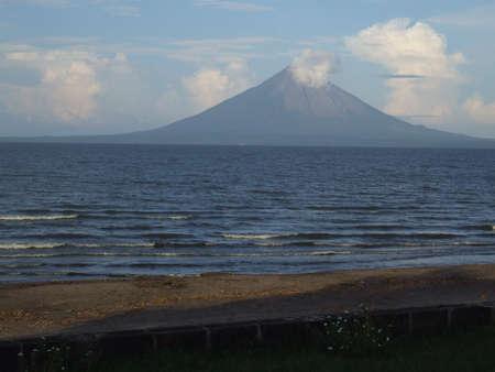Volcano In Ometepe Island, Nicaragua.