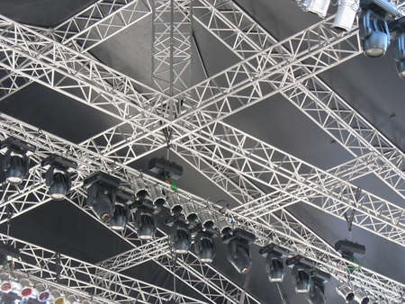 structures of stage illumination lights equipment and projectors