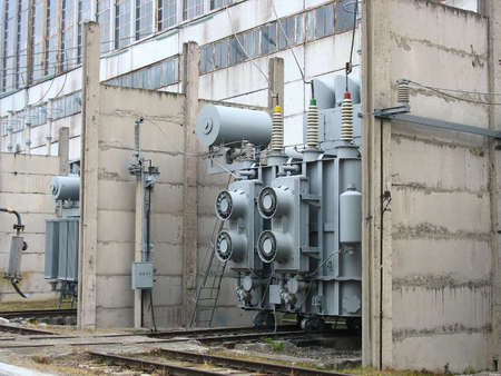 hydro: Huge industrial high voltage converter at a power plant