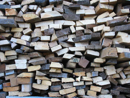 Background of dry chopped firewood logs in a pile Stock Photo - 16641868