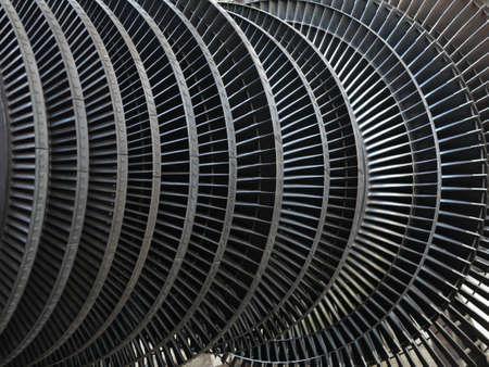 turbina de vapor: Turbina de vapor generador de energ�a durante el proceso de reparaci�n de la central