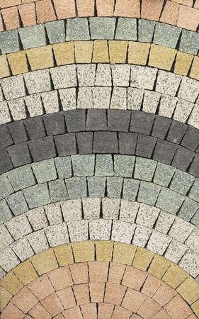 piso piedra: Adoquín textura. Resumen de fondo del pavimento.