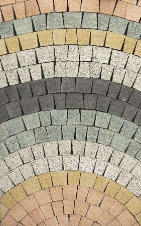 stone floor: Stone paving texture. Abstract pavement background. Stock Photo