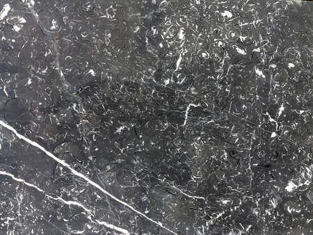 abstract paint: Gray marble background texture with natural pattern Stock Photo