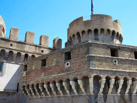 castel: Roma, Italy: The castle of the holy angel, Mausoleum of Hadrian