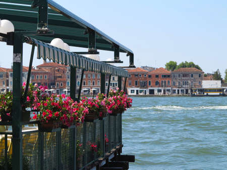 20.06.2017, Venice, Italy: View of old historic buildings and canals.