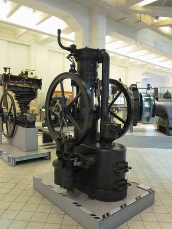 26.05.2018, Wien, Austria: Old steam engine in Vienna technical museum