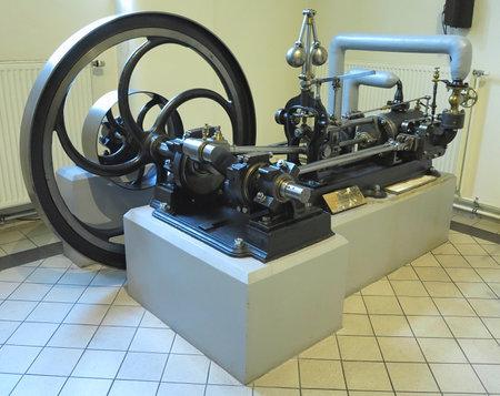 26.05.2018, Wien, Austria: Old steam engine in Vienna technical museum